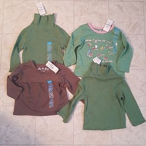 Children's Place Baby Girl Longsleeve Tops